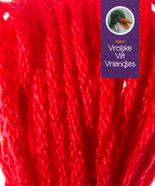 Sprookjes rood- oranje splijtgaren