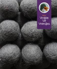 Wolbal grijs