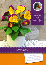 Pansies pattern