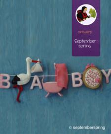 Babyslinger patroonblad