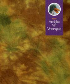 Sprookjes herfst bruin-geel-groen donker