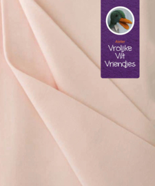 Poppentricot huidkleur (licht roze)