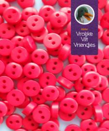 Mini knoopjes rood