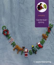 Materiaalpakket Christmas slinger zonder patroon