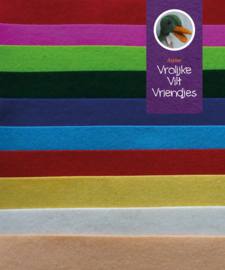 Wolvilt pakket lapjes 15 bij 20 cm