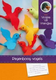 Patroonblad Regenboog vogels