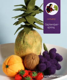 Materiaalpakket Fruit 2 zonder patroon