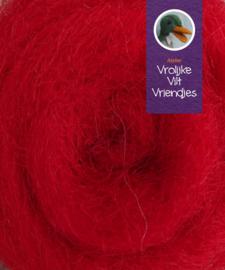 Gekaarde bheda wol rood