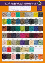 Kleurenkaart merinowol PDF