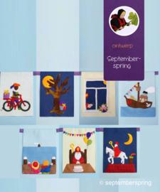 Pakket Sinterklaasliedjes vlaggen zonder patroon