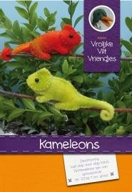 Patroonblad Kameleon en Scharrelaars