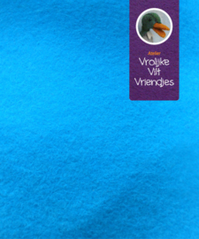 Turquoise  wolvilt