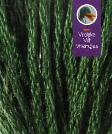 Sprookjes vetplant groen- wit splijtgaren