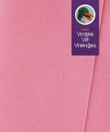 Cyclaam- oud roze  wolvilt