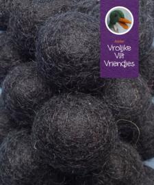Wolbal zwart