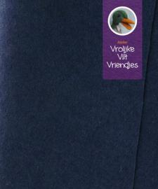 Blauw marine wolvilt