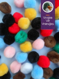 Pompons 10mm mix