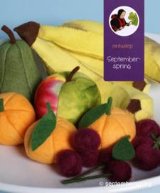 Materiaalpakket Fruit 1 zonder patroon