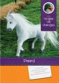 Paard wit-grijs