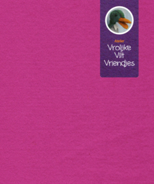 Fuchsia fel wolvilt