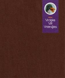 Poppentricot bruin (pieten)