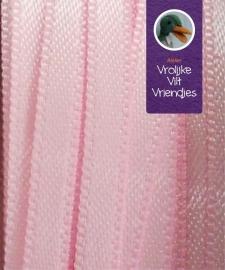 Satijnlint roze 3mm