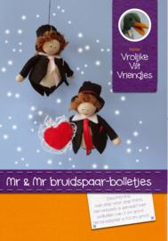 Mr en Mr bruidspaar
