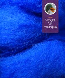 Prikwol  blauw