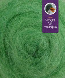 Gekaarde bheda wol lichtgroen