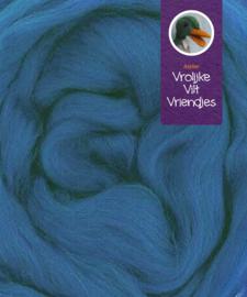 Lontwol merino saffierblauw