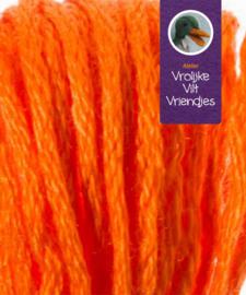 Sprookjes pompoen oranje groen splijtgaren