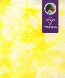 Sprookjesvilt  geel- wit