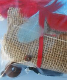 Pieten cupcake materialen
