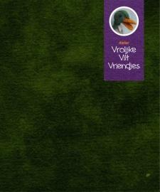 Sprookjesvilt groen (bladeren waterlelie)
