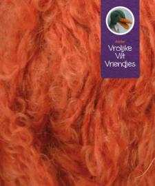 Poppenharen  rossig -oranje bruin