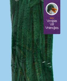 Chenilledraad groen 30 cm