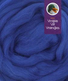 Lontwol merino koningsblauw