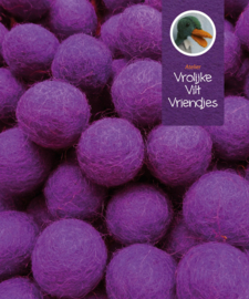 Wolbal paars