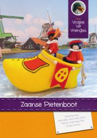 Patroonblad Zaanse Pietenboot