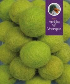 Wolbal  appelgroen