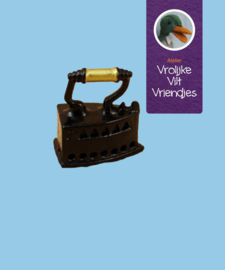 Strijkijzer miniatuur