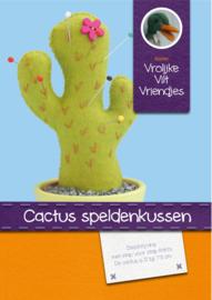 Patroonblad Cactus speldenkussen