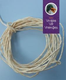 Papier touw verkrijgbaar in div. kleuren