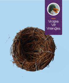 Nest ongeveer 8-10 cm