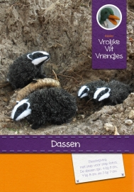 Patroonblad Dassen