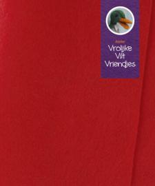 Rood warm wolvilt