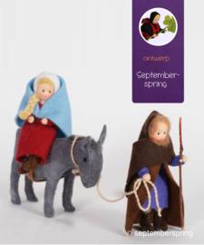 Materiaalpakket Jozef en Maria Naar Bethlehem zonder patroon