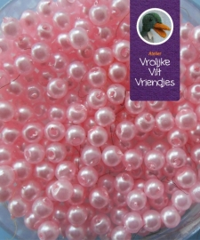 Parelkralen 3mm roze