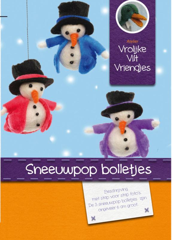 Sneeuwpop bolletjes