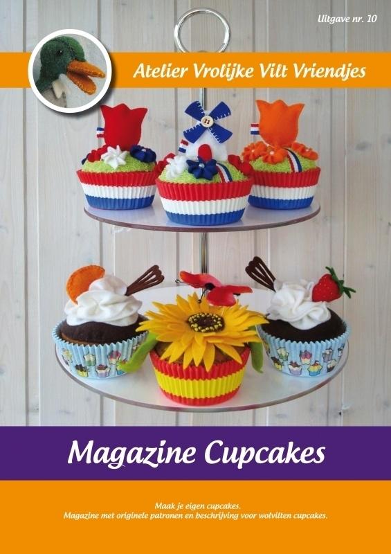 Magazine nr. 10 : Cupcakes